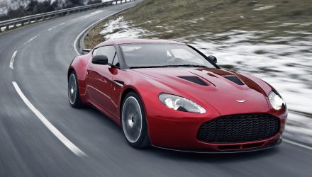 Aston Martin DBZ patent application found, new Zagato model?