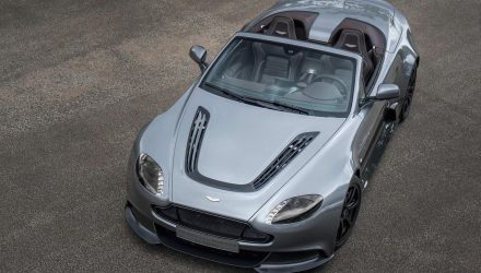 "Aston Martin Vantage GT12 Roadster revealed, ""most extreme roadster ever"""