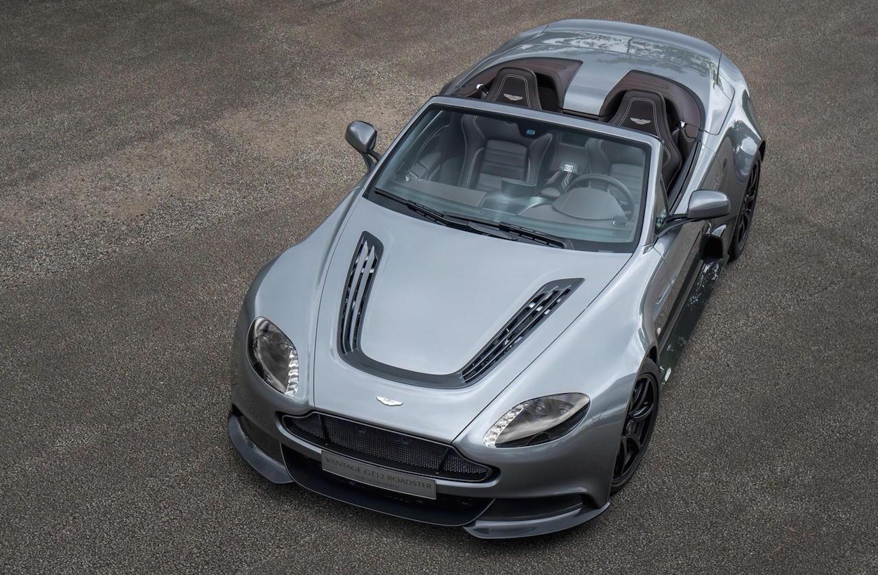 aston martin vantage gt12 roadster revealed most extreme roadster ever performancedrive. Black Bedroom Furniture Sets. Home Design Ideas