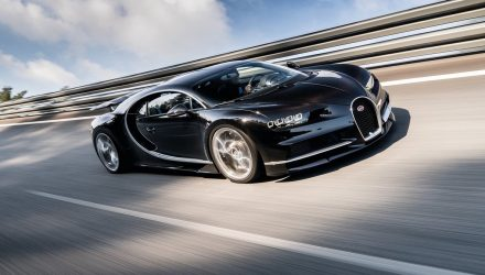 Bugatti Chiron to reset production car speed record, attempt in 2018
