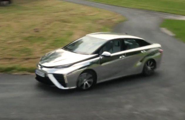 Chrome Toyota Mirai