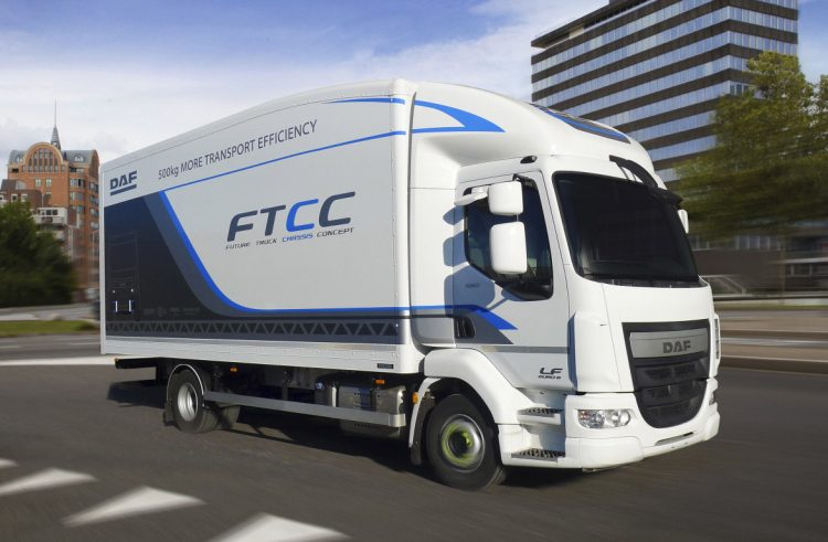 DAF Future Chassis concept