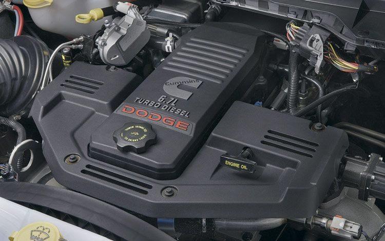 Dodge Ram Cummins 6.7 engine