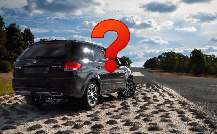 Ford Territory test road