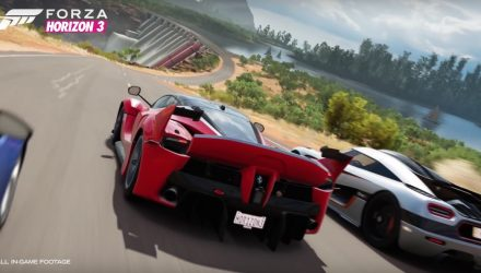 Spectacular Forza Horizon 3 trailer released, based on Australia (video)