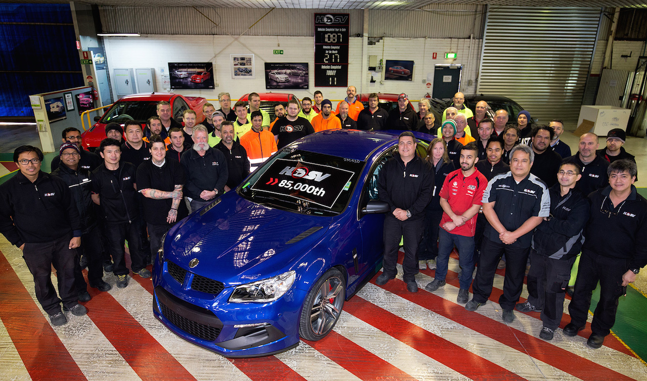 Hsv Passes 85 000 Production Milestone Approaches 30th