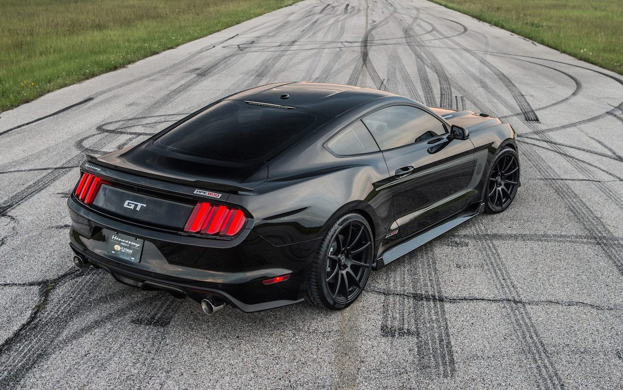Hennessey Mustang Hpe800 Celebrates 25th Anniversary