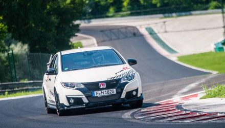 New Honda Civic Type R breaks numerous lap records in Europe