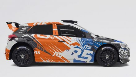 Hyundai i20 R5 rally car to make public debut at Ypres Rally