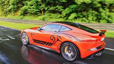 Jaguar F-Type SVR available for Nurburgring co-pilot experience