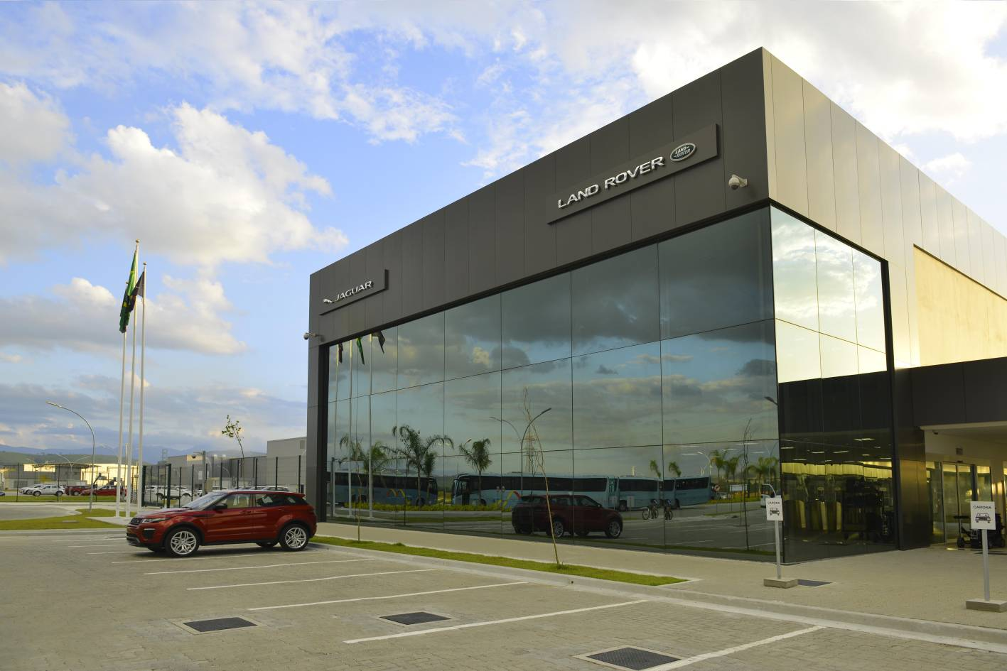Jaguar land rover opens first factory outside uk in for International decor for manufacturing general trading