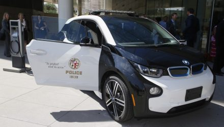 LA Police recruit 100 BMW i3 city cars