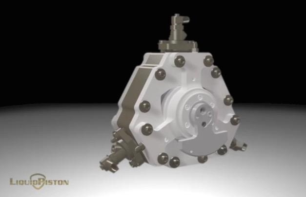 LiquidPiston X engine
