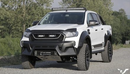 M-Sport creates muscly Raptor-like Ford Ranger for Europe