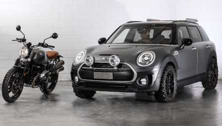 MINI reveals Clubman Scrambler concept, inspired by motorbike