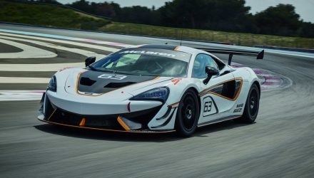 McLaren 570S Sprint revealed before Goodwood debut