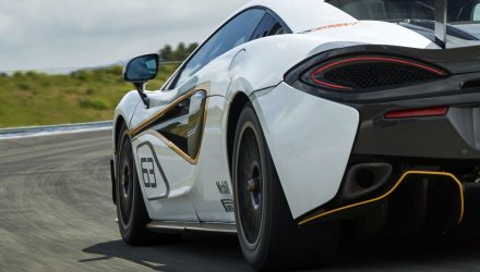 McLaren 570S Sprint previewed before Goodwood debut