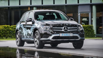 Mercedes unveils world's first plug-in hybrid hydrogen vehicle: GLC F-Cell