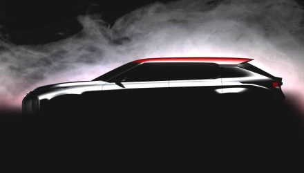 Mitsubishi Ground Tourer hybrid SUV concept previewed