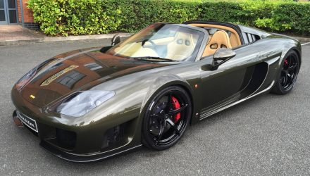 Noble M600 Speedster revealed at Goodwood Festival