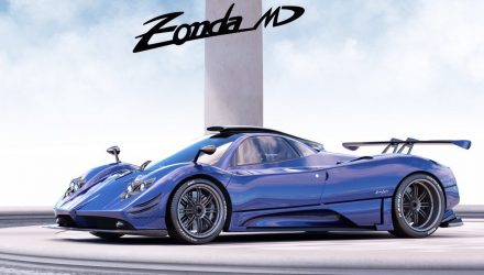 Yet another Pagani Zonda one-off special made; the MD