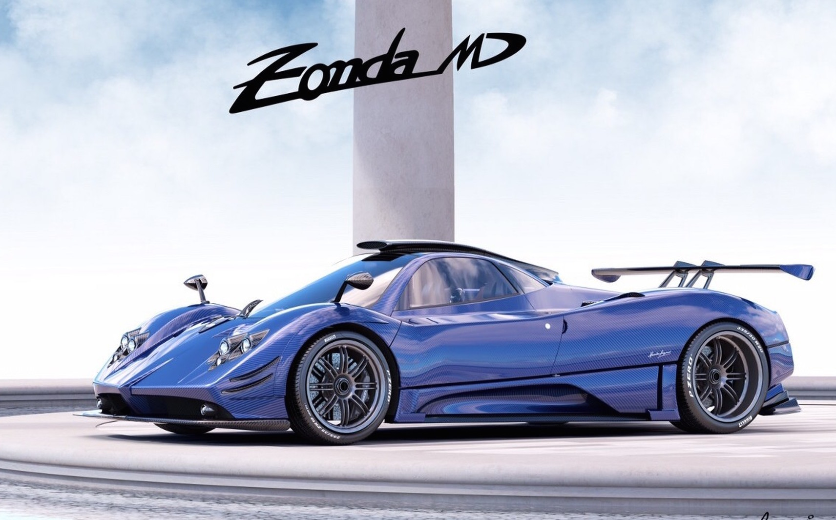 Yet Another Pagani Zonda One Off Special Made The Md