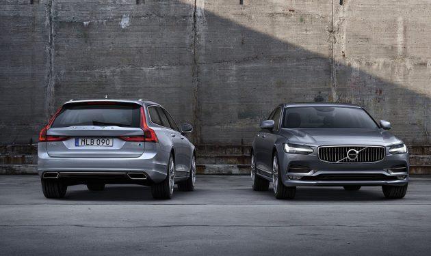 Polestar Volvo V90 and S90