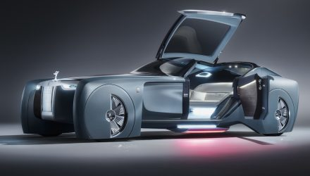 Rolls-Royce VISION NEXT 100 concept revealed