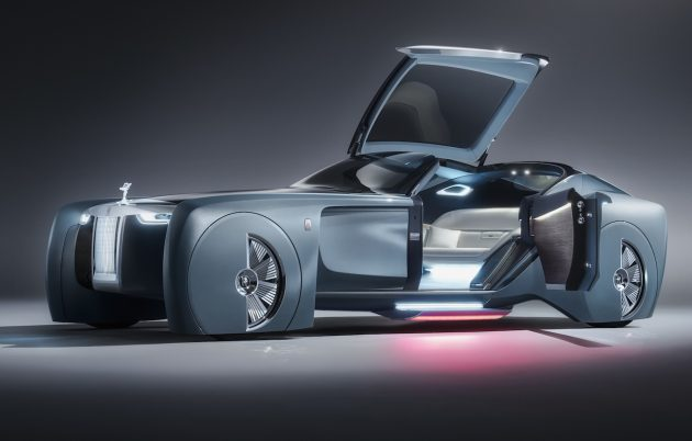 Rolls-Royce VISION NEXT 100 concept-night