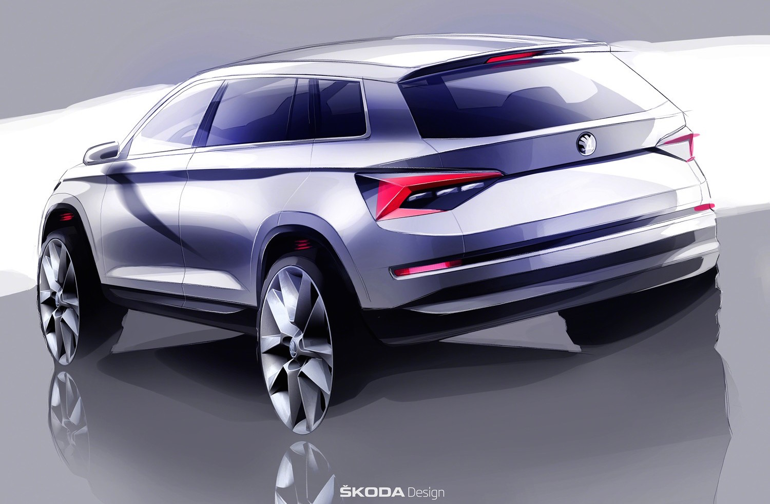 skoda kodiaq previewed all new seven seat suv performancedrive. Black Bedroom Furniture Sets. Home Design Ideas