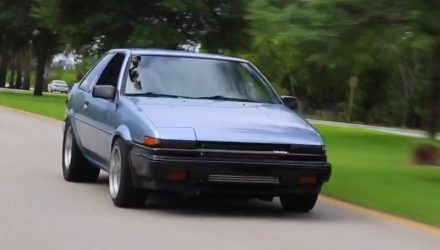 Toyota AE86 gets insane Honda S2000 F22C turbo engine conversion (video)