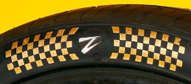 Z Tyre gold