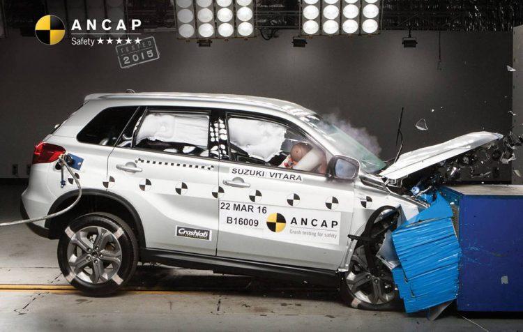 2015 Suzuki ANCAP crash safety