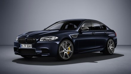 BMW M5 Competition Edition revealed with 441kW