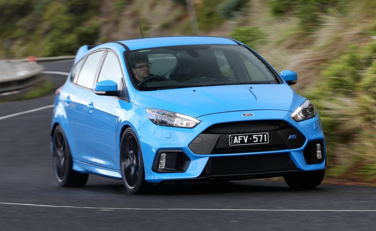 2016 ford focus rs now on sale in australia from 50 990 performancedrive. Black Bedroom Furniture Sets. Home Design Ideas