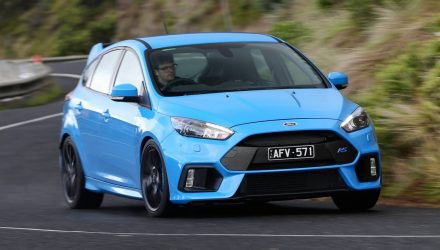 2016 Ford Focus RS now on sale in Australia from $50,990