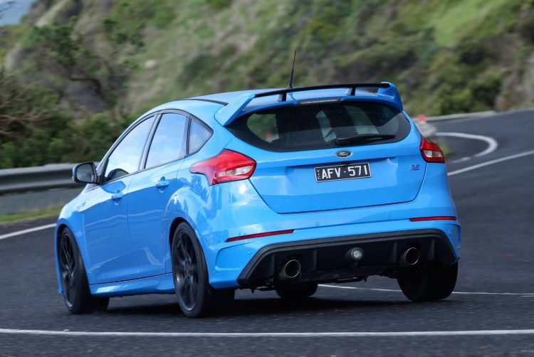 2016 Ford Focus RS-rear
