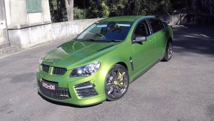 Video: 2016 HSV GTS review – first impressions (POV)