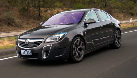 2016 Holden Insignia VXR review (video)