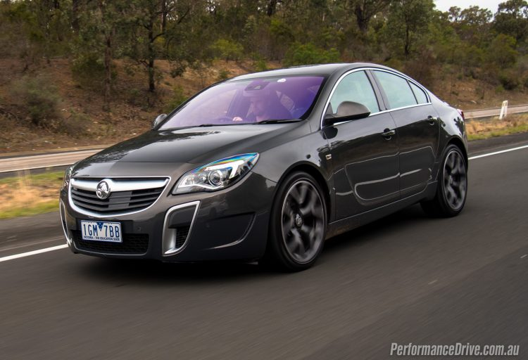 2016 Holden Insignia VXR-Phantom grey
