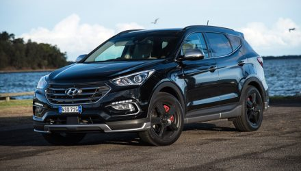 2016 Hyundai Santa Fe SR review (video)