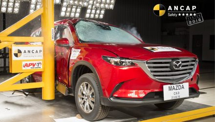 2016 Mazda CX-9 awarded 5-star ANCAP safety