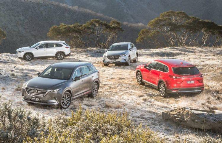 2016 Mazda CX-9 range