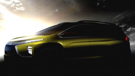 Mitsubishi teases MPV concept heading to Indonesian auto ahow
