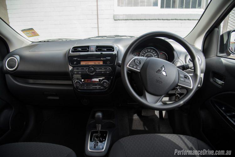 2016 Mitsubishi Mirage LS-dash