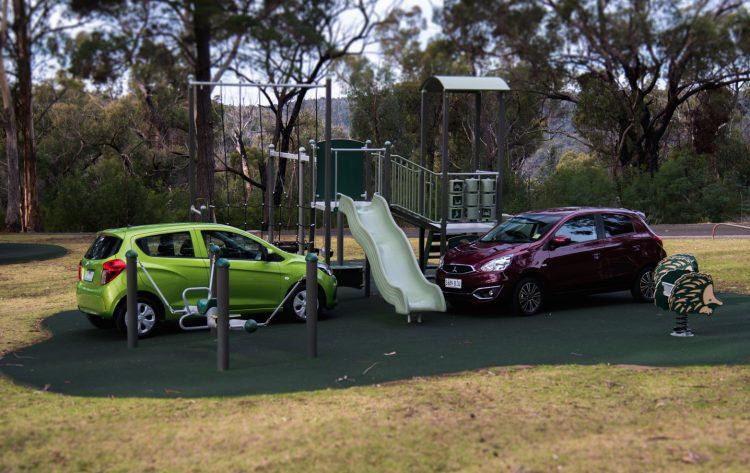 2016 Mitsubishi Mirage vs Holden Spark-5
