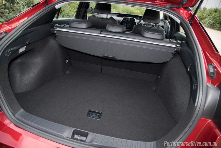 2016 Toyota Prius-cargo area