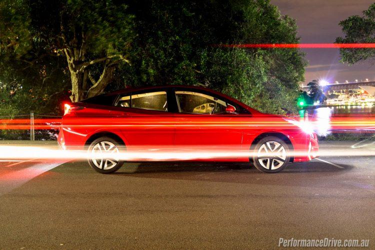 2016 Toyota Prius-night