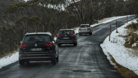 2016 Volkswagen Tiguan undergoing testing in Australia