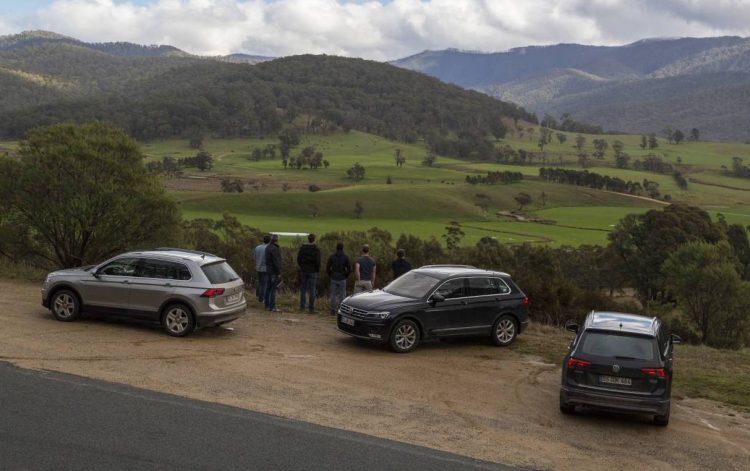 2016 Volkswagen Tiguan testing-Australia